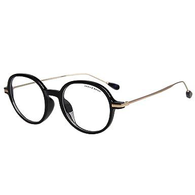 d78d8b4501a Jardin d amour Optical Frames Metal Wayfarer Glasses Round Womens Mens  Optical Glasses Non-