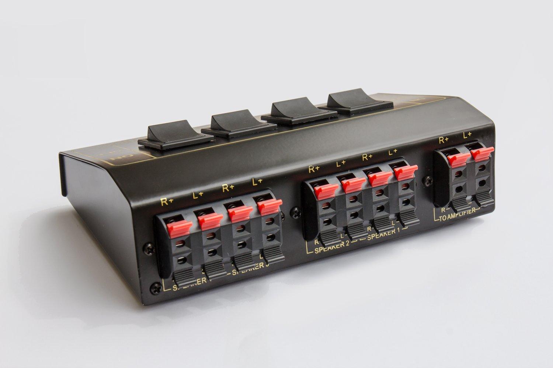 Ziemlich Lautsprecherkabelschalter Ideen - Elektrische Schaltplan ...