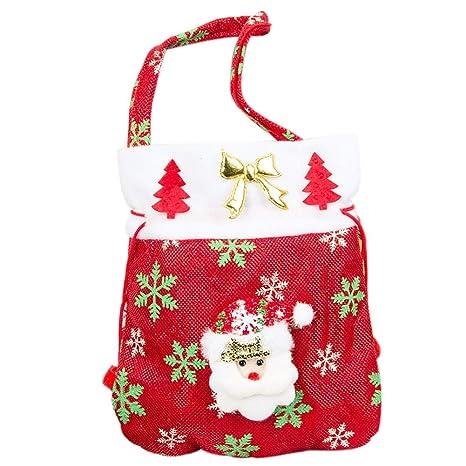 Topdo Bolsa de Regalo Navidad con Cajas de Cuerda Atado ...