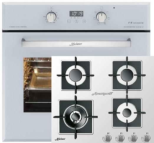 Cocina de gas Juego Autark de Kaiser/Kaiser EH 6365 W Eléctrico ...