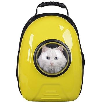 Kaxima Mochila para Mascotas Espacio Cabina Transpirable Hombro ...