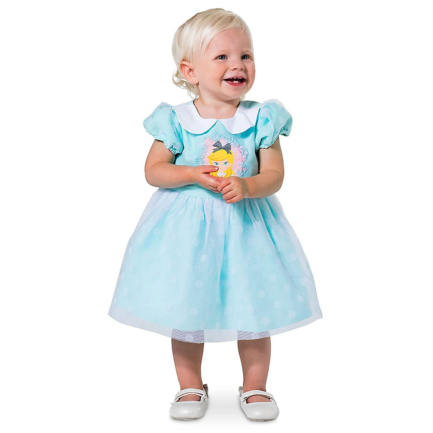 Amazon.com: Disney Alice in Wonderland Party Dress for Baby Size 6-9 ...