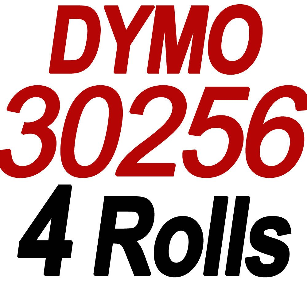 Compatible DYMO LabelWriter (LW) 30256 2-5/16'' x 4''(59 mm x 102 mm) Shipping Labels Bright White 300 Labels/Roll,4 Roll by COLORWING (Image #2)