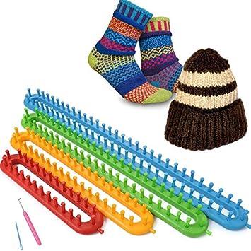 Gut gemocht Strickrahmen-Set 6-teilig Strickring Knitting Loom Stricken HE76