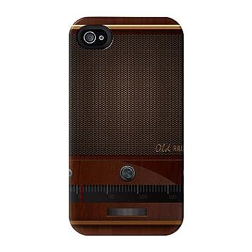 Retro Gadgets - Old Radio abrigo lleno negro carcasa iPhone ...