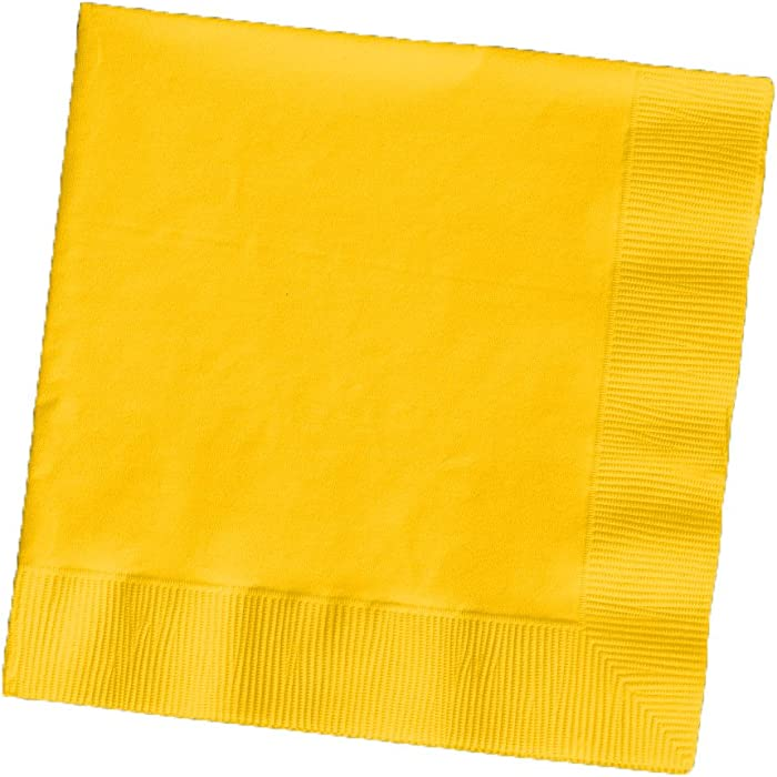 The Best Yellow Paper Beverage Napkins
