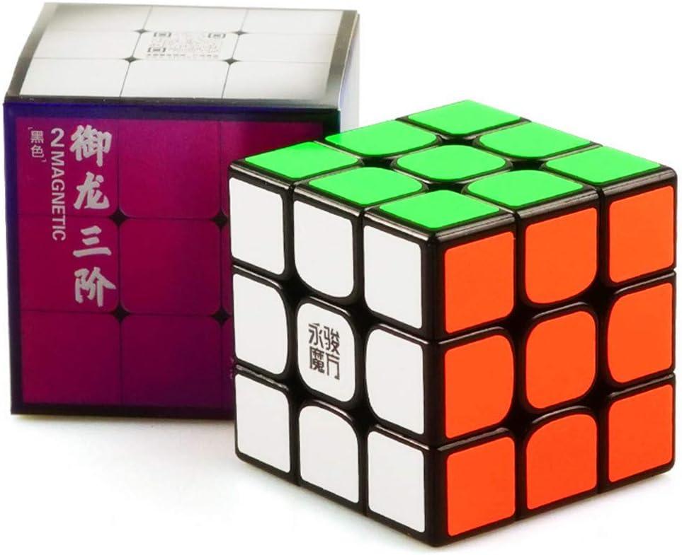 GoodCube Yongjun YJ GuanLong 3x3x3 Speed Magic Speed Cube Toys Black