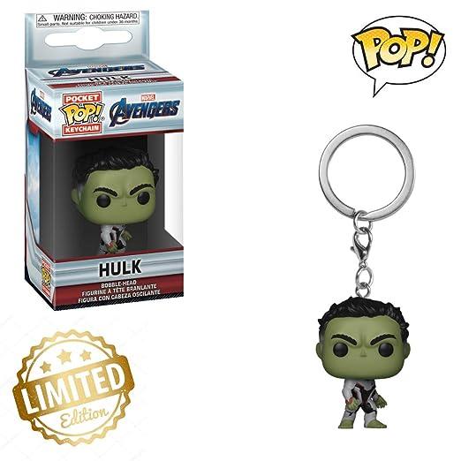 Funko Pop! Llaveros: Los Vengadores Endgame - Hulk ...