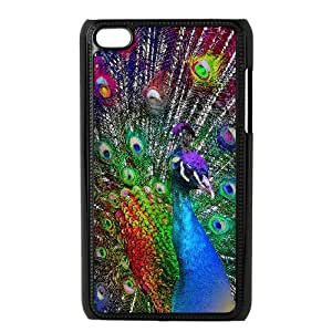 WJHSSB Phone Case Peacock,Customized Case For Ipod Touch 4