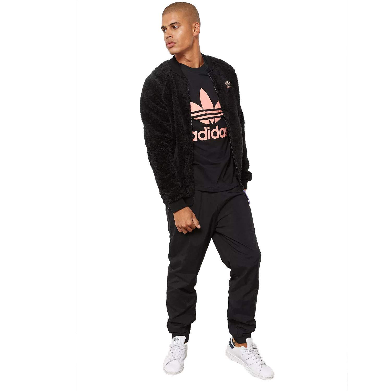 low priced c1c9e 78925 Amazon.com  adidas Men s Originals Pharrell Williams HU Hiking Track Pants  Black  Shoes