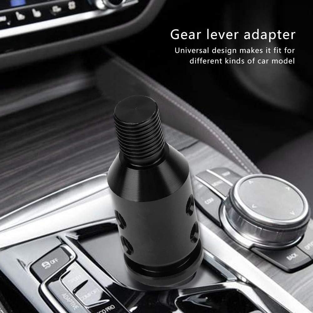 Headerbs Shift Knob Adapter,Universal Car Shift Knob Adapter for Non Threaded Shifters 12x1.25 Red