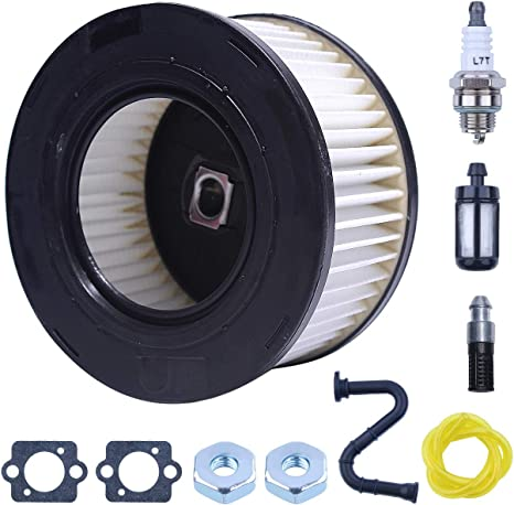 Mtanlo Air Fuel Filter HD2 for Stihl MS261 MS271 MS291 MS311 MS341 MS391 MS261C MS271C MS362C Chainsaw Maintenance Tune Up Hi-Flow Pleated Cleaner Service Kit 1141 120 1604