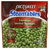 Pictswt Steam'ables Edamame Shelled Soybeans, 8 Ounce (Pack of 8)
