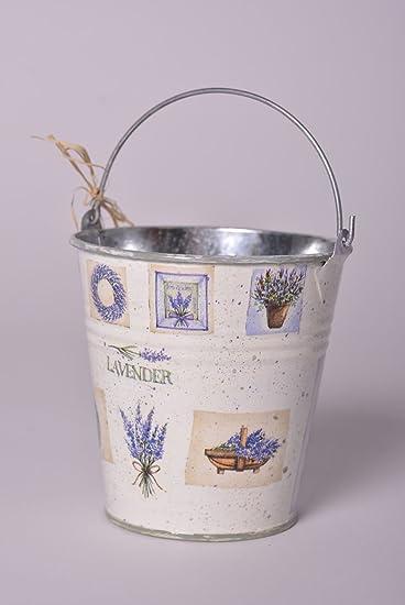 Decoupage Bucket Flower Pot Handmade Home Decor Ideas Designer Flower Pots