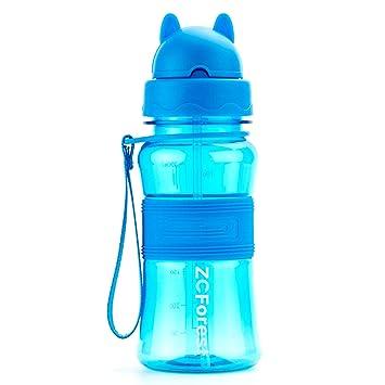 Amazon.com: FunyCC - Botella de agua portátil de 300 ml para ...