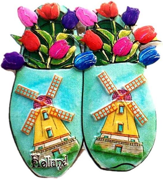 Netherlands 3D Travel Souvenir Gift Fridge Magnet Home & kitchen Decor Polyresin Craft Refrigerator Magnet Collection