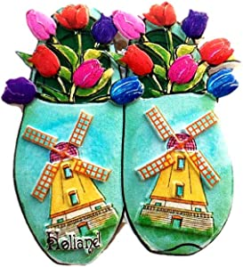Netherlands 3D Travel Souvenir Gift Fridge Magnet Home & kitchen Decor Polyresin Craft Refrigerator Magnet Collection