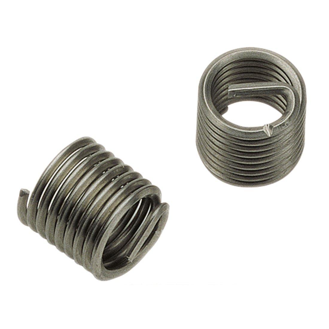 V/ölkel standard Insertos Roscados 07216 de aceros inoxidable libre 10 x 1.25/1,0/D Tipo S DIN 8140