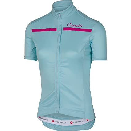 Amazon.com   Castelli Imprevisto Full-Zip Jersey - Women s Pale Blue ... c607a5f9e