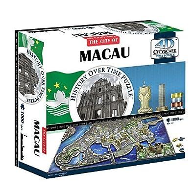 4d Cityscape 4d Macau China Puzzle By 4d Cityscape