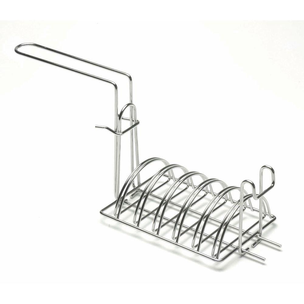 Fryer Basket for Taco Salad Bowl Stainless Steel - Sliding