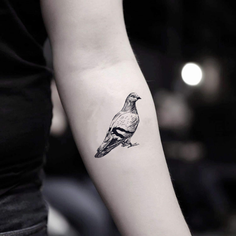 Tatuaje Temporal de Paloma (2 Piezas) - www.ohmytat.com: Amazon.es ...