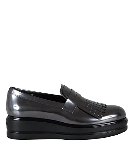 Hogan Mocassino In Pelle Donna MOD. HXW3230Z580 37½  Amazon.co.uk ... 654b36411c7