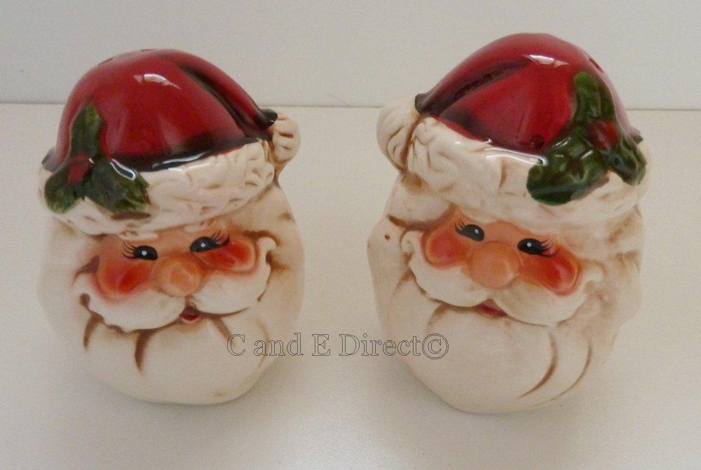 Santa Claus/Weihnachtsmann Weihnachten Geschirr – Keramik Salz ...