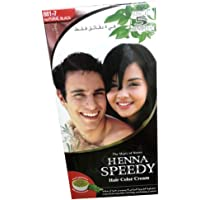 Just in 5 minutes Henna Speedy Hair Color Cream Natural Black