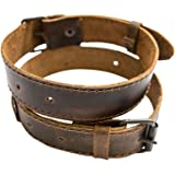 Rustic Leather Bicycle Ankle Band Handmade by Hide & Drink :: Bourbon Brown