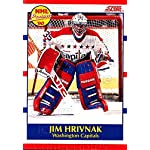 635afc9706c Jim Hrivnak autographed Hockey Card (Washington Capitals) 1990 Pro ...