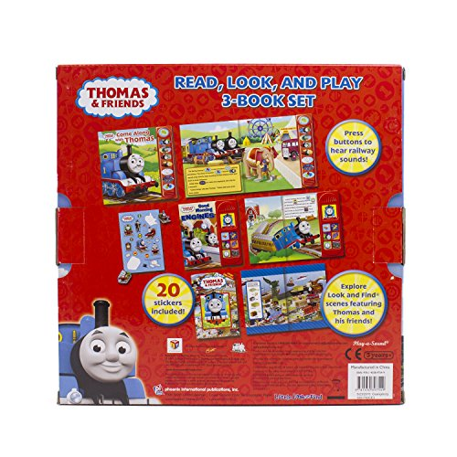 Thomas &  Friends Read, Look, and Play 3-Book Set