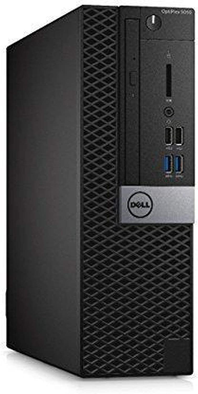 DELL OptiPlex 5050 Small Form Factor Desktop, Intel Core i5-6500, 8GB DDR4 RAM, 256GB SSD, Windows 10 Pro Black (Renewed)']