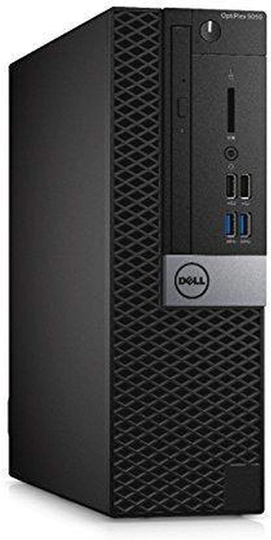 DELL OptiPlex 5050 Small Form Factor Desktop, Intel Core i5-6500, 8GB DDR4 RAM, 256GB SSD, Windows 10 Pro Black (Renewed)']   Amazon