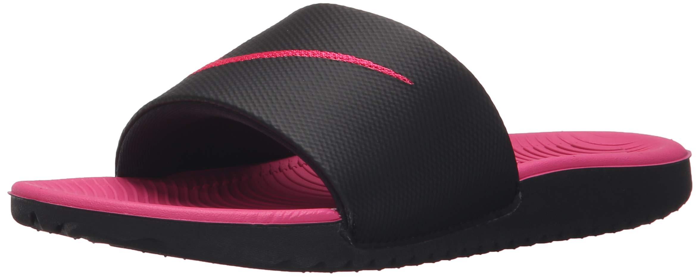 a4913c4c12111d Galleon - Nike Girls  Kawa Slide (GS PS) Running Shoe