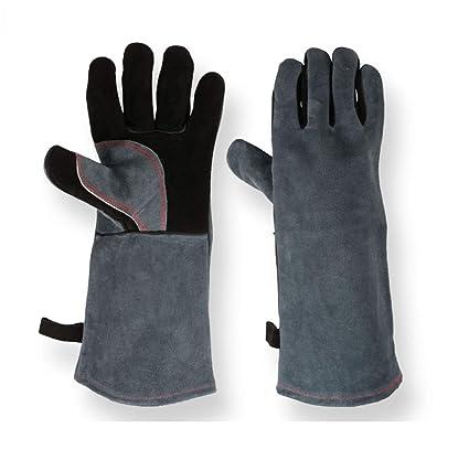 JJY Barbecue Gloves High Temperature Resistance Doble Aislamiento Cocina Microondas Hornear Al Aire Libre