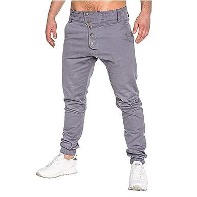 Pantalones De Los Hombres De Pantalones Chándal De Primavera ...