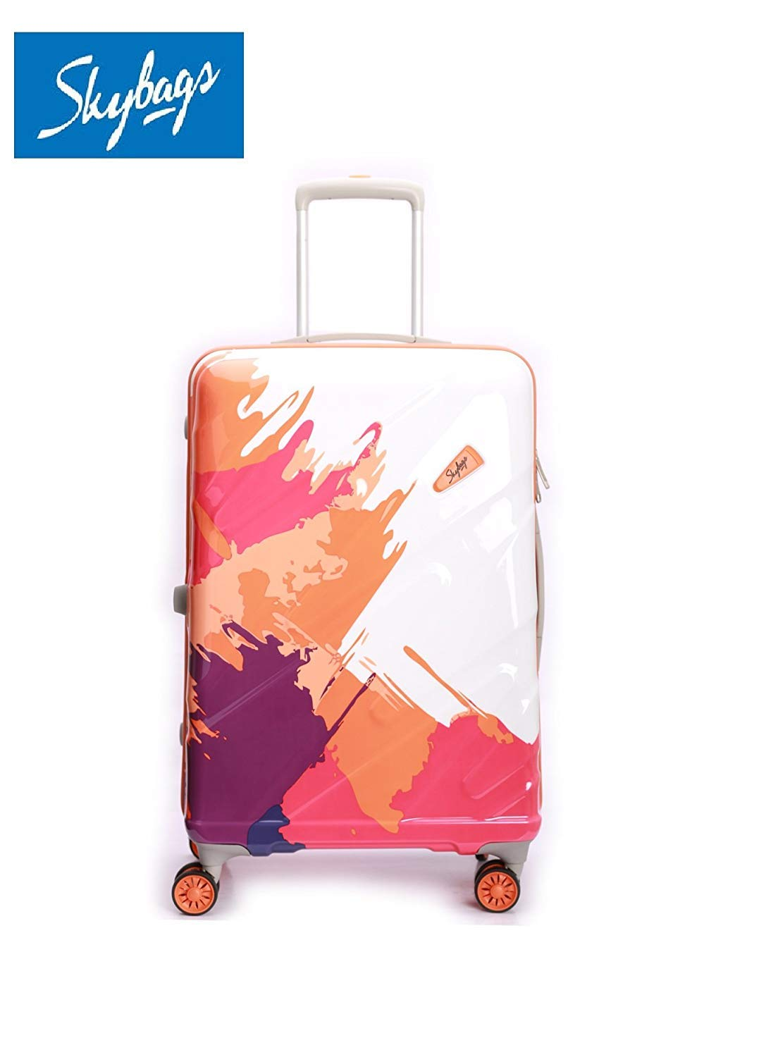cc9859b4b3b SKYBAGS. Polycarbonate Check-in Luggage (Neon Orange