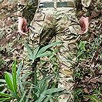 H Welt EU Pantalon militaire pour homme, pantalon avec genouillères pour jeux de stratégie, airsoft, paintball, tir… 9