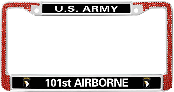U.S Army 101st Airborne Chrome Frame