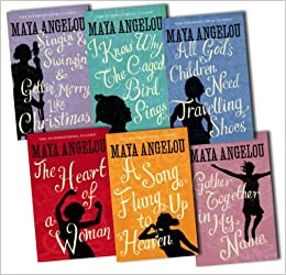 Maya Angelou 6 Books Collection Pack Set RRP: £47.94 (I Know Why ...