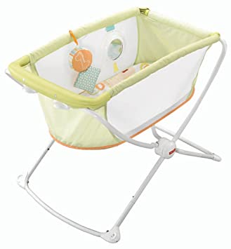 Amazon Com Fisher Price Rock With Me Bassinet Rock And Play Baby