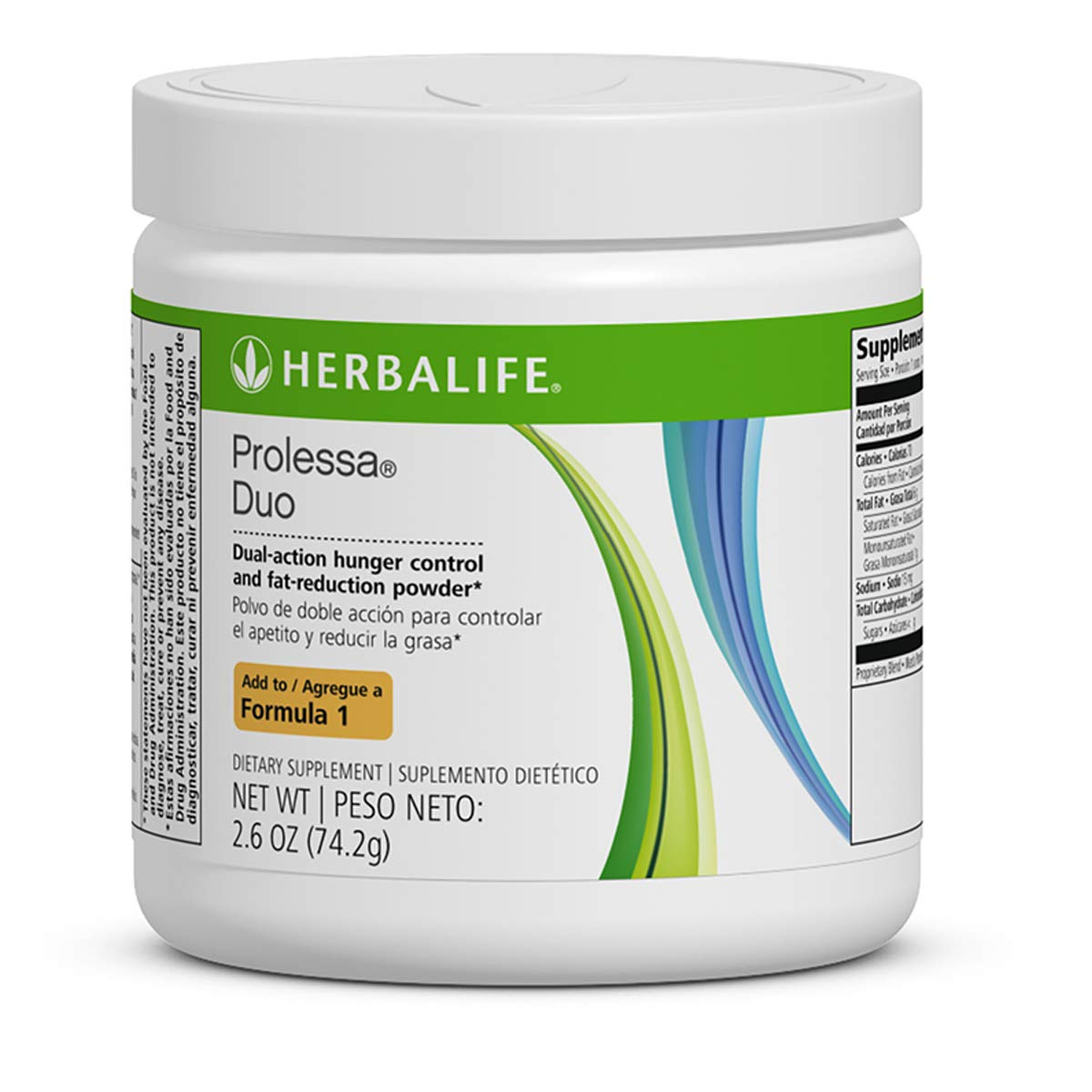 Weight-Loss Prolessa Duo 7-Day Program 74.2gr Control Hunger Snack