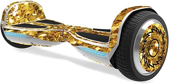 Mightyskins Skin Compatible With Razor Hovertrax 2.0 Hover Board Protective Blue Flames Easy To Apply Remove Durable And Change Styles Made In The Usa And Unique Vinyl Decal Wrap Cover