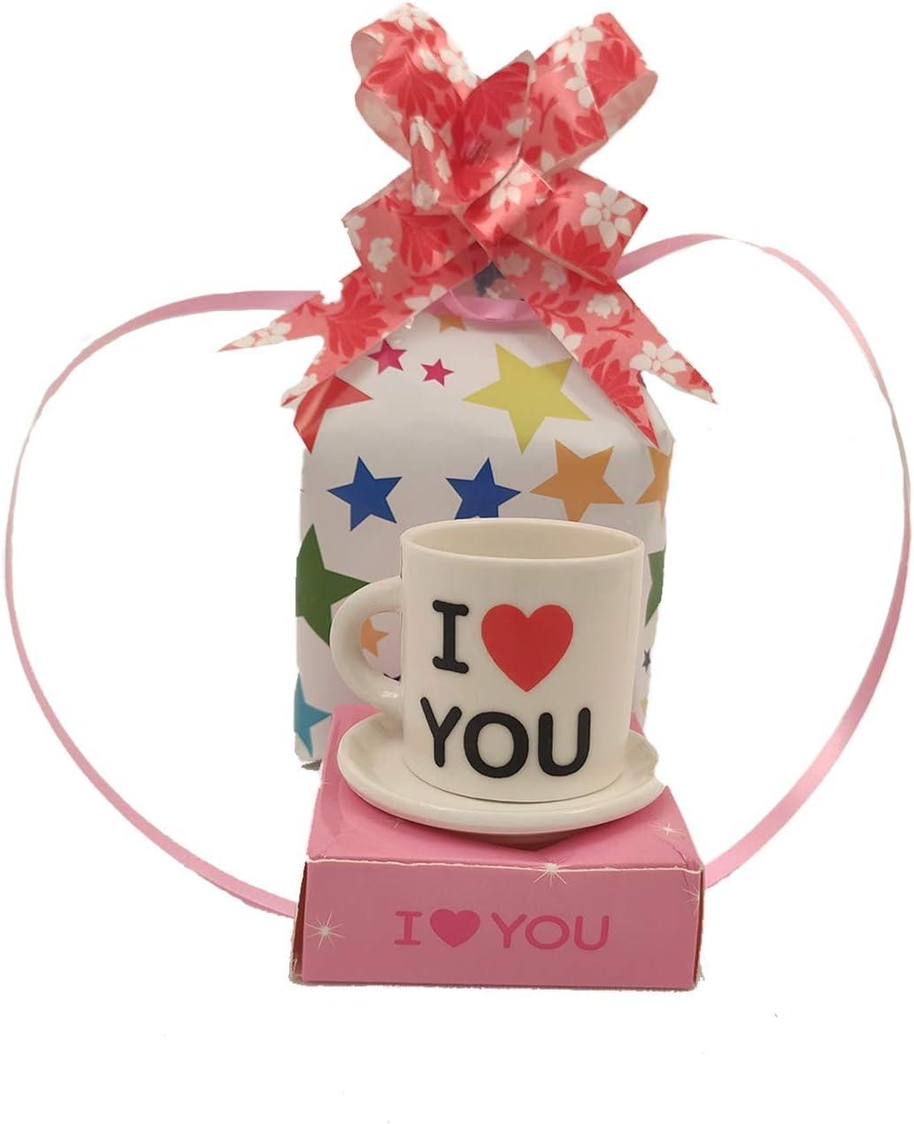 Whopper TE Amo Impreso Tazas de café de cerámica Regalos para Navidad Año Nuevo para Pareja Regalos extravagantes para Esposo Esposa, mamá, papá y Novia y Novio