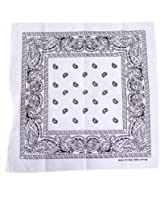 HDE Paisley Print Design Bandana Cotton Handkerchief Headwrap