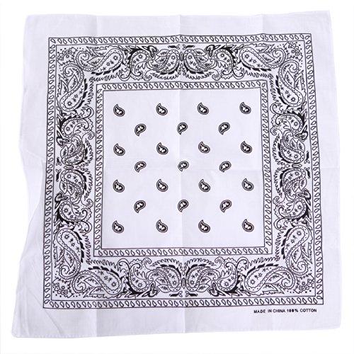 Mens Square Printed Bandana - 5