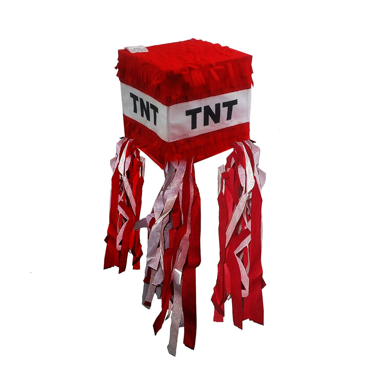 Pinatas TNT for Minecraft Party, Red