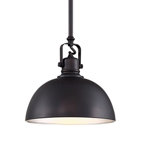 Perfect Revel Belle 9u0026quot; Industrial Adjustable Bronze Pendant Light, Oil Rubbed  Bronze Finish