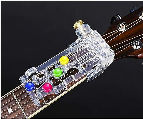 Herramienta de aprendizaje de acordes de guitarra, sistema de aprendizaje de guitarra, herramienta de práctica para guitarra acústica: Amazon.es: Instrumentos musicales
